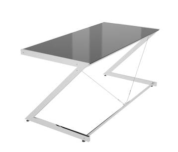 Biurko Z-Line - Chrom - Main Desk Black